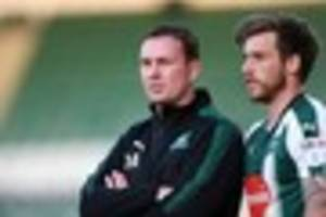 plymouth argyle manager derek adams not sure what to expect from...