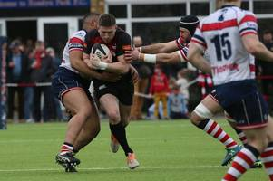 hartpury continue their build-up to new season against familiar rivals