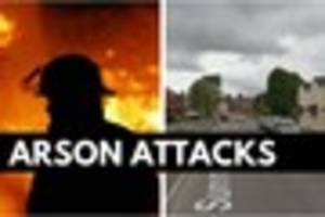 Hunt launched after arson attacks target Exeter homes