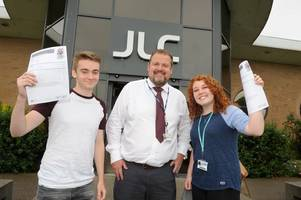 Colleges and schools in North Lincolnshire celebrate A Level results