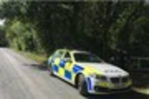 Brentwood manhunt: Watch as police helicopter hovers over Hutton...