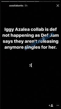 iggy azalea & azealia banks mysterious collabo fate's finally revealed (blame def jam?)