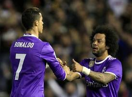 Ronaldo-less Real completes Super Cup rout of Barcelona