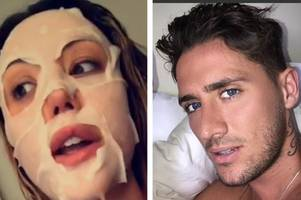 charlotte crosby denies splitting from stephen bear after explosive row over 'him refusing to appear on her tv show'