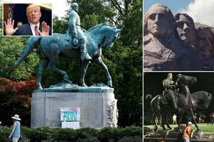 Donald Trump in new race controversy after describing Confederate statues as beautiful