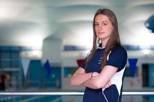 east kilbride swim team star off to world championships ahead of florida move