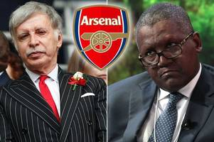 nigerian billionaire wants arsenal takeover and he would sack arsene wenger if he buys club