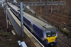 rail services from ayr hit by disruption after train breaks down near newton-on-ayr railway station