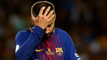 Barcelona inferior to Real Madrid after Super Cup defeat - Gerard Pique