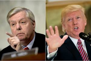 Trump Calls Charlottesville Comments by Sen. Graham 'A Disgusting Lie'