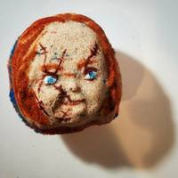 The Chucky Bath Bomb (the Devil incarnate smells of orange soda)