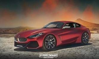 New BMW Z4 Coupe Rendered As The Toyota Supra Cannibal We'll Never Get