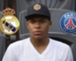 Mbappe faces his greatest test to date amid PSG and Real Madrid interest