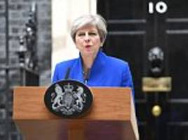Theresa May says UK stands with Spain