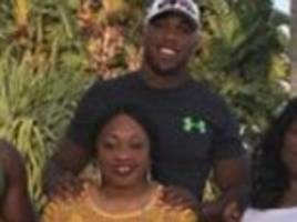 anthony joshua pays tribute to his mother on instagram