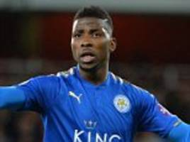 Leicester's Kelechi Iheanacho visits injury specialist