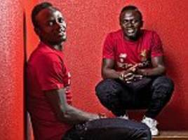 sadio mane is liverpool's very own running man