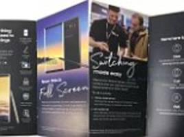 Leaked Samsung sales brochure reveals Galaxy Note 8 specs
