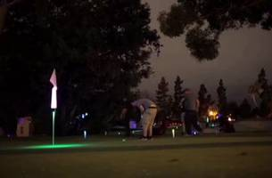 busy during the day? try night golf in san diego