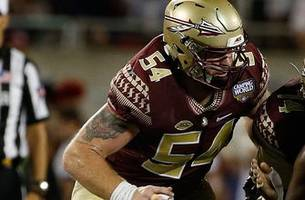 Florida State center Alec Eberle back to full strength after surgery