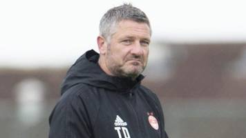 aberdeen want to go 'one better' than last season, says assistant tony docherty