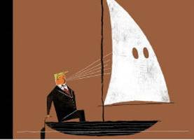 Next week's striking New Yorker cover shows Trump traveling with the KKK
