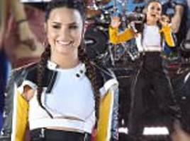 demi lovato is cool for the summer on good morning america
