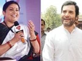 Smriti Irani goes on the offensive at Mail Today Femail
