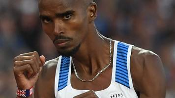 mo farah 'more relaxed' for switch to road