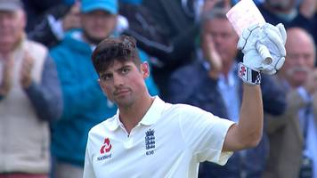 watch: cook out for 243 as england declare