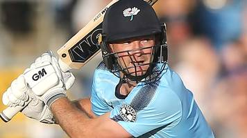 t20 blast: adam lyth left 'speechless' by domestic record knock for yorkshire