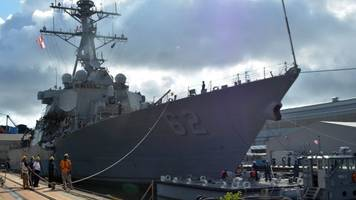 US Navy Announces Punishments For Crew On USS Fitzgerald