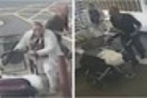 Police appeal for help identifying man and woman after iPod theft...