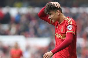 notts county refusing to give-up the chase for nottingham forest's tyler walker