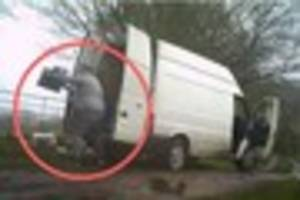 white van man jamie humpage becomes first person to be jailed for...