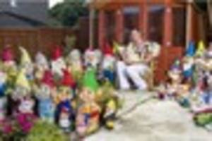 sixty-two is gnome laughing matter for superfan dave robinson...