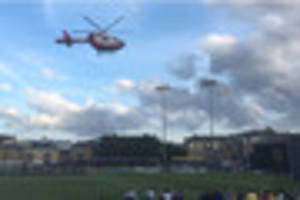 An Essex County Cricket Club safety steward has died after...