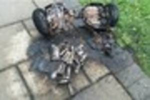 Hoverboard catches fire while child is on it