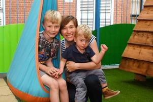 Poorly children at Burton hospital given boost with play area revamp
