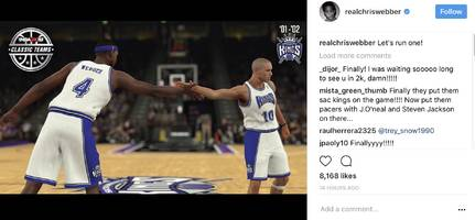 chris webber's here for nba 2k18's legend team, lebron james says no excuses, floyd mayweather's message to everyone wanting tix?