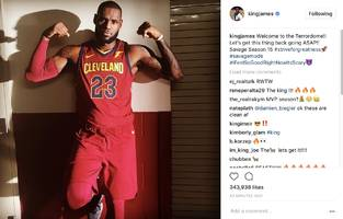 "LeBron James Has A Message For Golden State & 30 Other NBA Teams: ""Welcome To The Terrordome!!"""