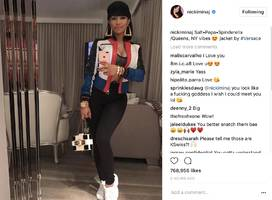 Nicki Minaj Literally Channels Everyone's Fave 90's Duo For Throwback Thursday