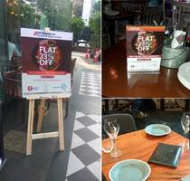 Alliances Galore Curates an Unbelievable 33% off at the Finest Restaurants for the ICICI Bank Debit and Credit Card Base