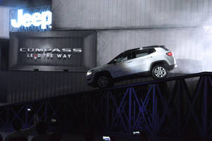 percept ice conceptualizes and produces the jeep compass price announcement event in india for media, partners and employees of fca