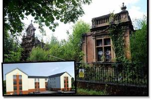 bulldozer plan for paisley's historic half-time school, 20 years after it was gutted by fire
