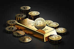One Bitcoin Is Worth More Than Three Ounces of Gold