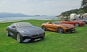 BMW Z4 and 8 Series Concepts Share Pebble Beach Spotlight