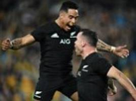 Australia 34-54 New Zealand: Ioane and Crotty star