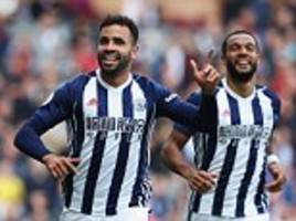 burnley 0-1 west brom: hal robson-kanu scores and sees red