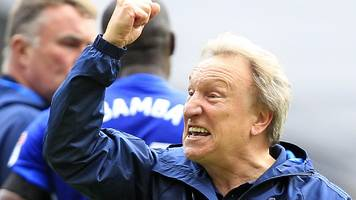 Cardiff City: Neil Warnock tells fans to 'enjoy' success